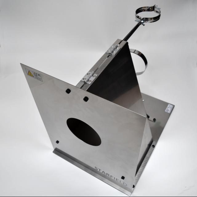 DUCTCOVER-V6S-LIGHT 「ストーブ機種限定」ステンレス製幕除本体(別売の断熱材付直管が必要)