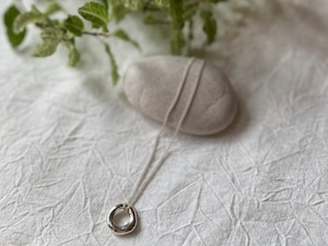 【aika jewelry】Round thick necklace