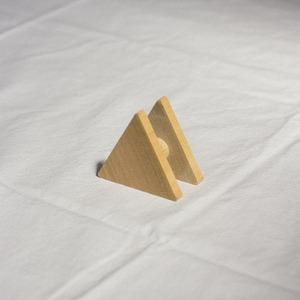 Wooden Code Reel Triangle
