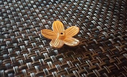 桜 お香立て 金色