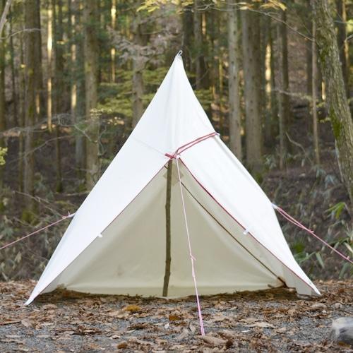 Bush Craft Inc ブッシュクラフト たき火タープ 3×3 自然派 キャンプ アウトドア bc4573350727881
