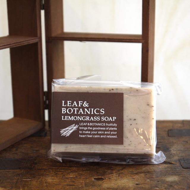 <松山油脂 LEAF&BOTANICS>マザーソープ レモングラス