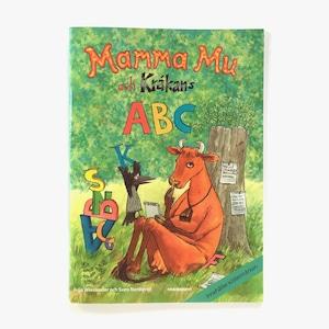 スウェーデン語ドリル帳「Mamma Mu och Kråkans ABC(めうしのママ・ムーとクローカンのABC)」《2009-01》