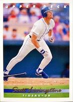 MLBカード 93UPPERDECK Scott Livingstone #063 TIGERS