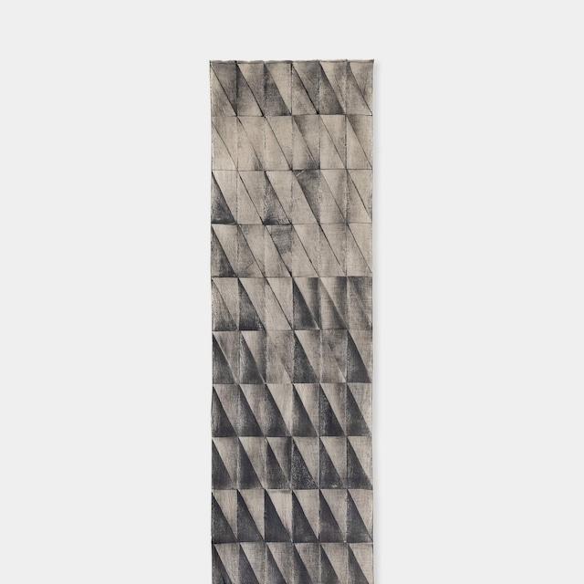 Shiori Mukai Textile 024 向井詩織 ブロックプリント 約36×190cm