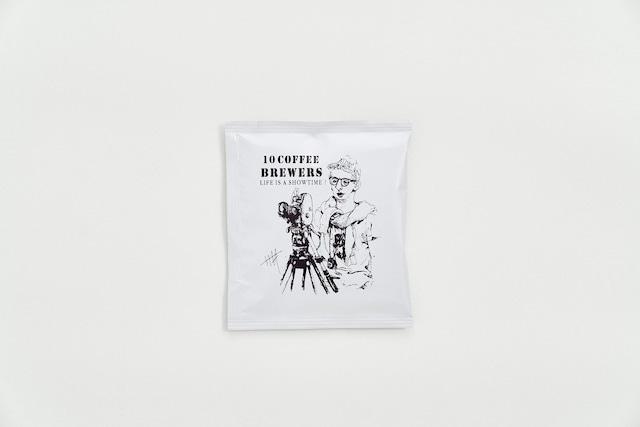 10 COFFEE BREWERS COFFEE BAG (映画監督ver.):ポーチセット(5p)