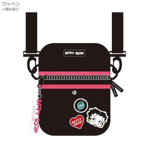 【Betty Boop】ベティ・ブープ ミニショルダーバッグ(ワッペン/CX-50017)