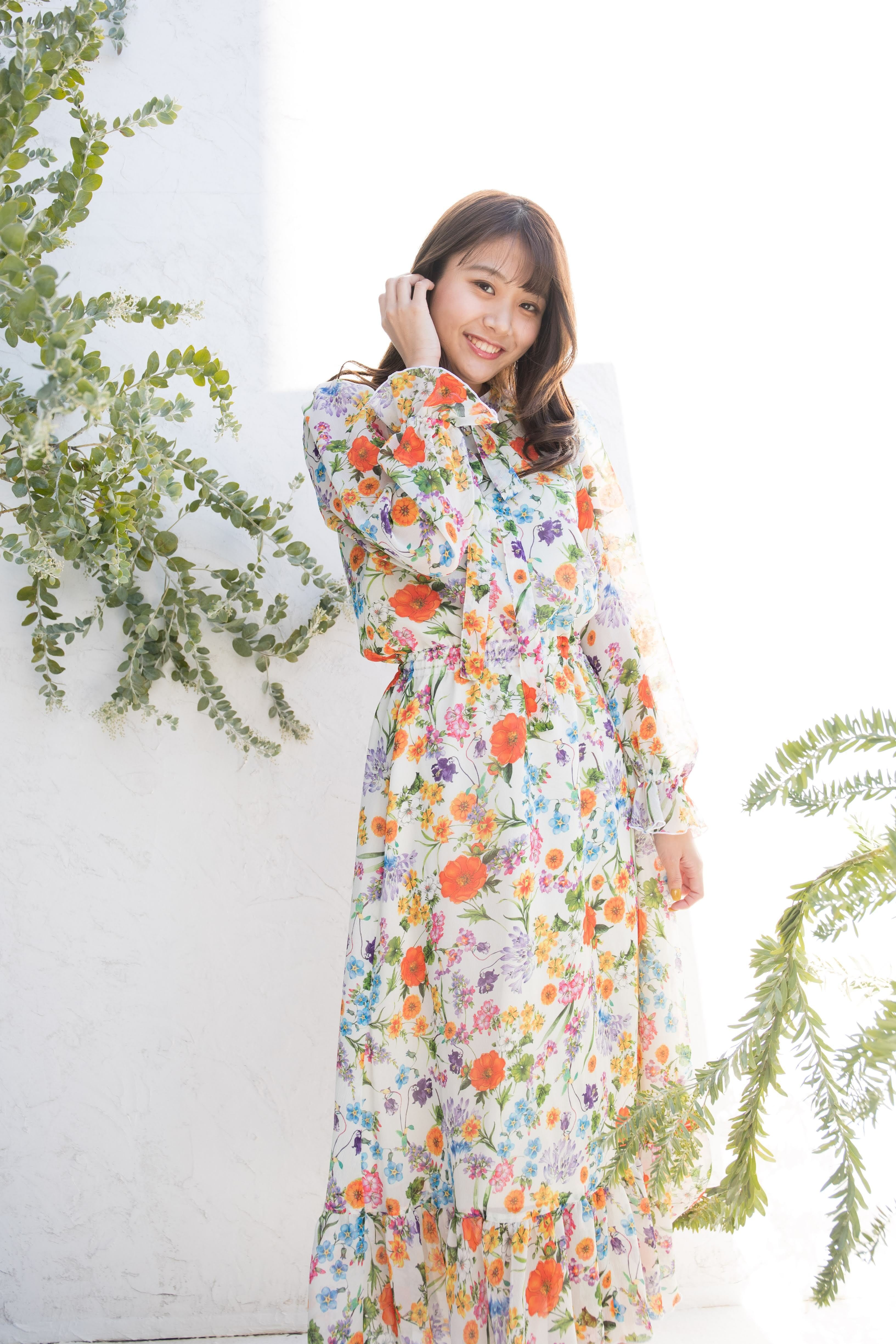 flower resort dress