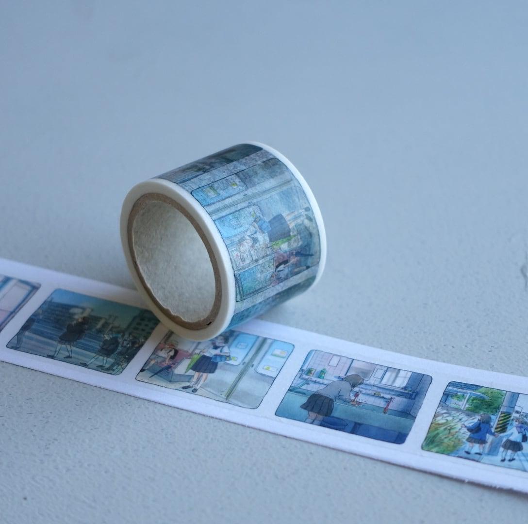 今日マチ子『Distance わたしの #stayhome日記』マスキングテープ(ロールタイプ)