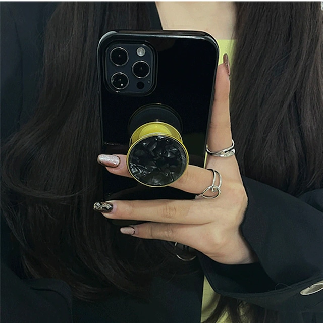 Korean gloss grip iphone case