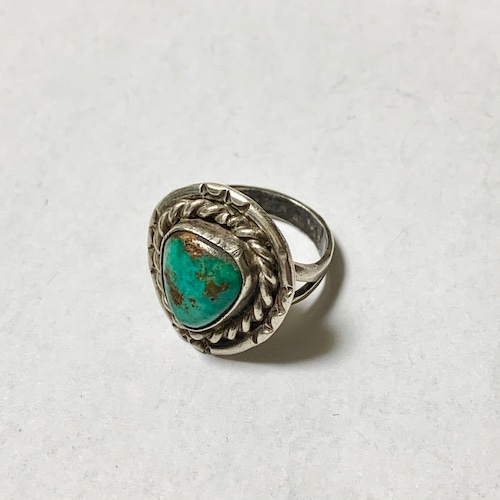 Vintage Navajo Turquoise Ring ③