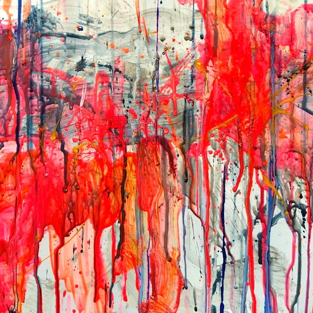 絵画 絵 ピクチャー 縁起画 モダン シェアハウス アートパネル アート art 14cm×14cm 一人暮らし 送料無料 インテリア 雑貨 壁掛け 置物 おしゃれ 抽象画 現代アート ロココロ 画家 : tamajapan 作品 : t-36