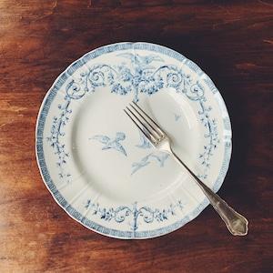 """Gien """"Marie-Antoinette"""" dinner plate ①"""
