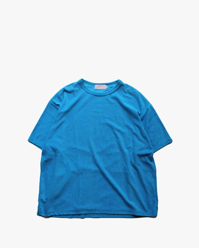 """EACHTIME. Pile T-Shirt  """"Big""""  Blue"""