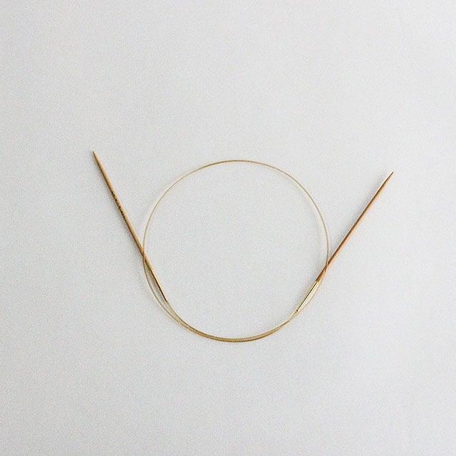 チューリップ:竹輪針 3号(3.0mm)【80cm】