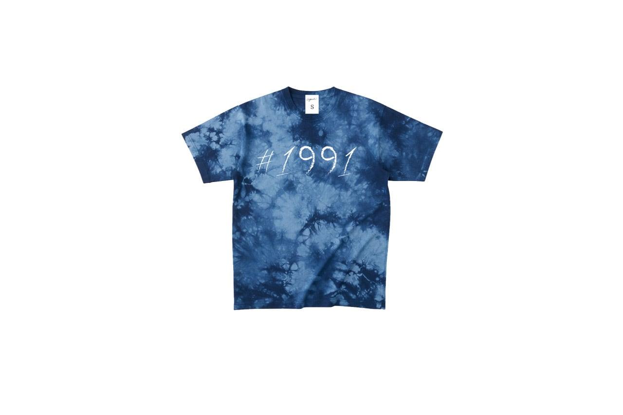 1991 tiedye T-shirt (BLUE)