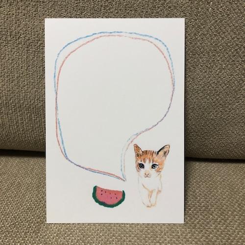 ポストカード 89(子猫)