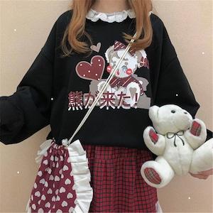 【トップス】気質アップキュート安カワ/安くてかわいいレース長袖トップス52973354
