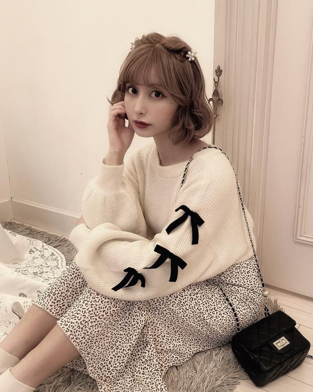 【予約】original 3way ribbon knit cardigan - IVORY