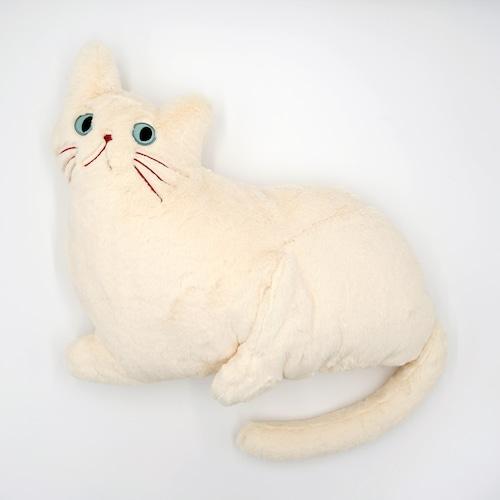 猫クッション(ミミクッション)クリーム