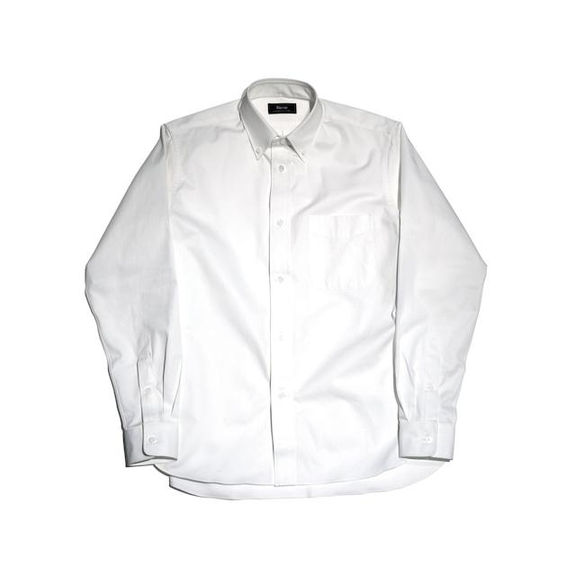 【Riprap】 HIGHCOUNT TWILL B.D SHIRTS WHITE