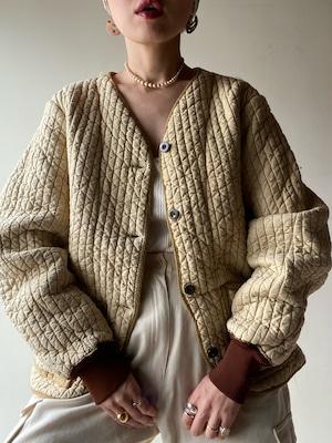 Vintage 60s Slovakian Quilt Jacket②