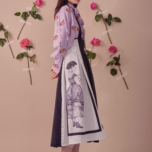 Doll maid apron skirt