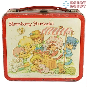 アラジン ストロベリーショートケーキ メタル・ランチボックス