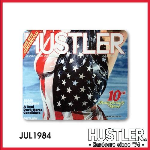 HUSTLER MOUSE PAD(ハスラー・マウスパッド) / JULY 1984 カバー