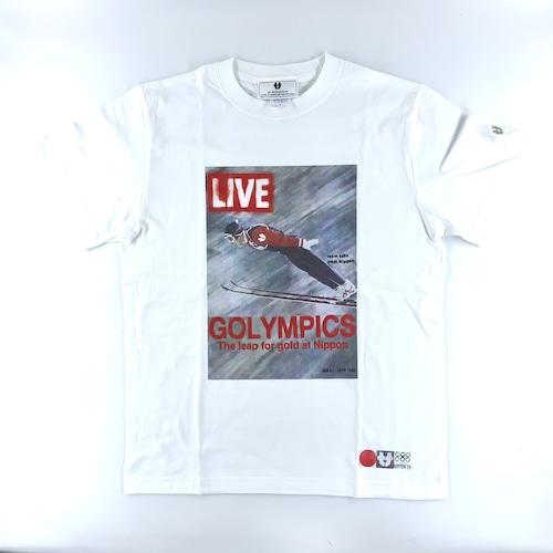"SAPPORO ""GOLYMPICS"" LIVE T-shirts"