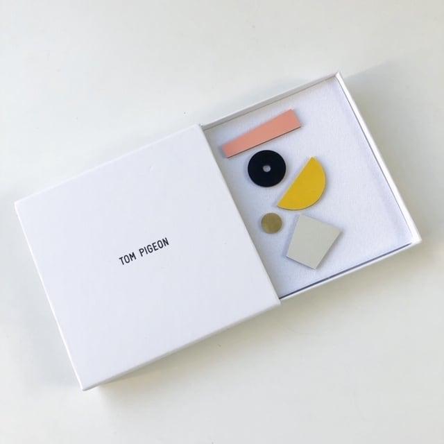 Tom Pigeon -Shipwreck Mix Match Earring Set(ピアス)-