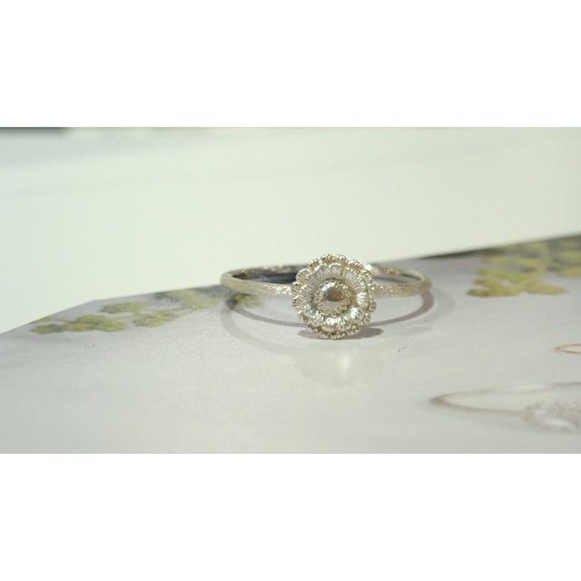 Gerbera Silver Ring