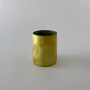 Votive Candleholder / Vase Bamboo Olive Green|ボーティブ キャンドルホルダー フラワーベース バンブー オリーブグリーン