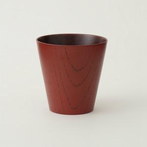 香川漆器 MOKUMEカップ 朱/黒/黄/ベージュ/青 中田漆木