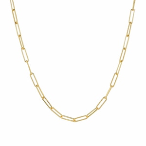 Twist link chain necklace|ネックレス