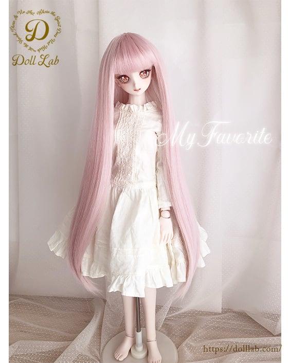 シルクストレート[9~10inch]ベビーピンク 桜 DWL012-A003-9in