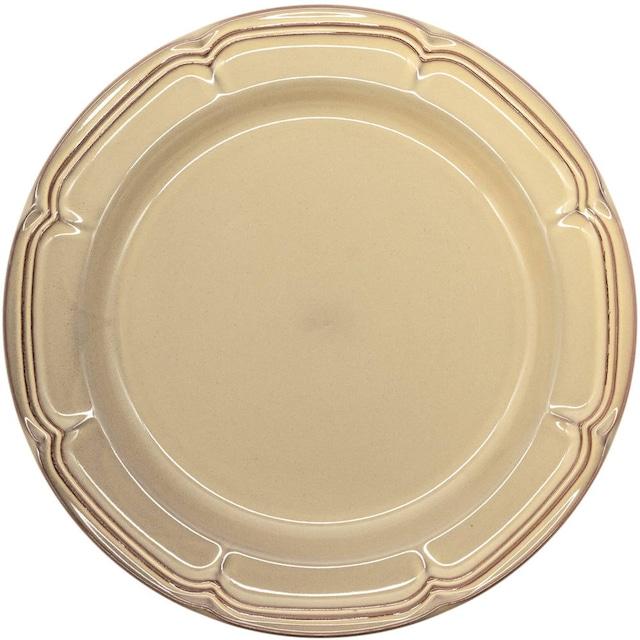 Koyo ラフィネ リムプレート 皿 約29cm シナモンベージュ 15922102