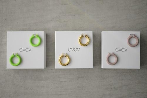 G.V.G.V. / VOLUME HOOP PIERCE (3color)
