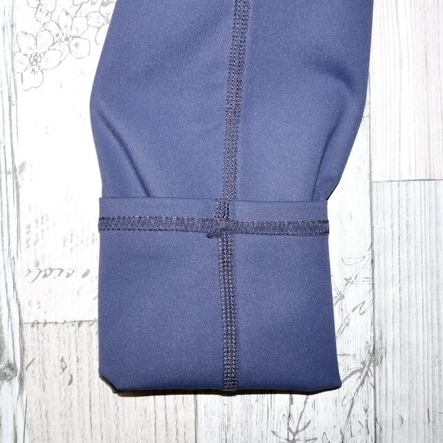 【BOTTOMS】内側ポケット付き ブルー