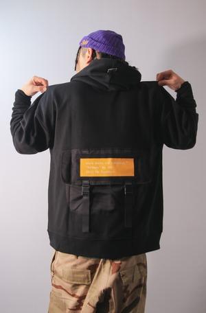 kb. battle field hoodie [BLACK]