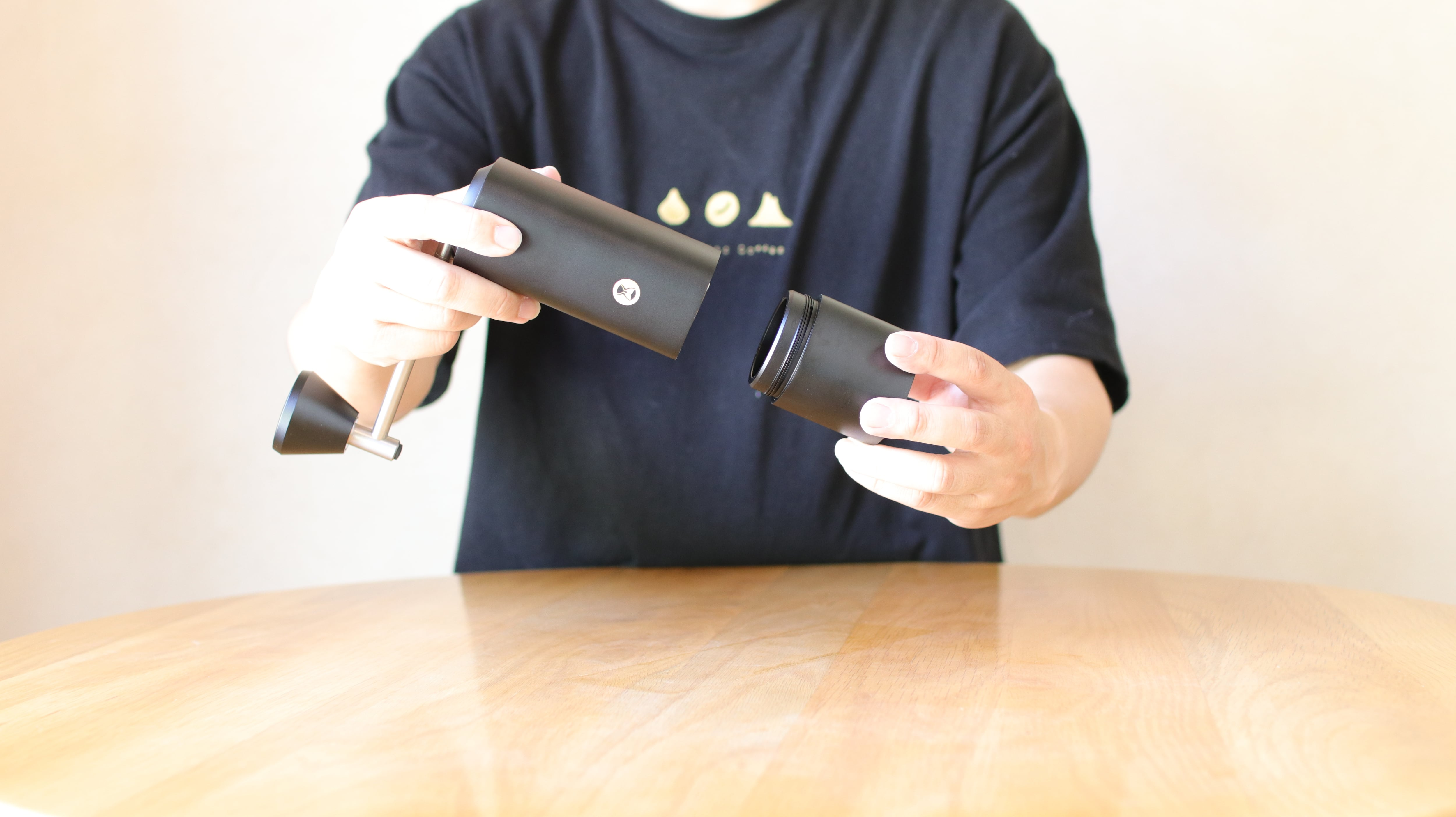 タイムモア X-black(手挽きミル)正規輸入/1年保証付