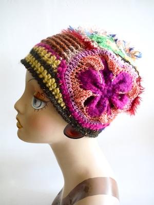 創作帽子D <M56.5cm〜57cm>