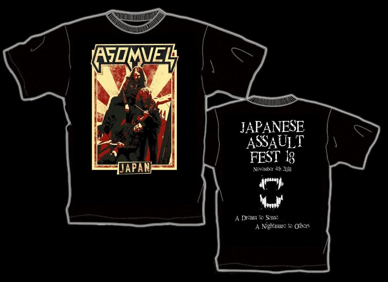 ASOMVEL 来日記念限定Tシャツ