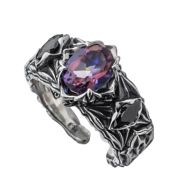 ロンバスミスティックリング青紫 ACR0289 Rhombus Mystic Ring Blue Purple