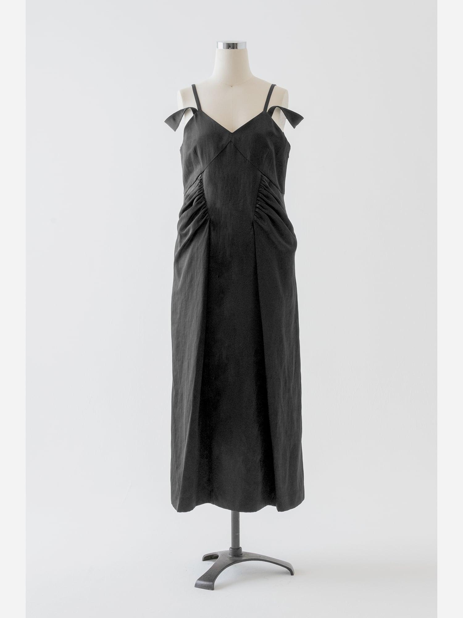 【予約】AKIKOAOKI slipping dress-02