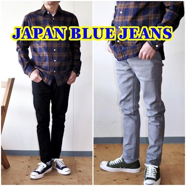 JAPANBLUEJEANS ジャパンブルージーンズ プレップジーンズ メンズ ジーンズ デニム カラーデニム テーパードスリム J6121J01 ジッパー