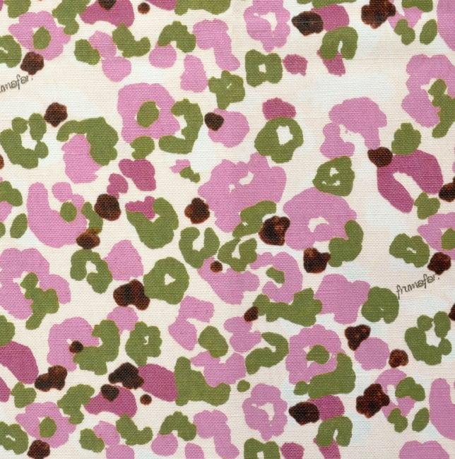 < girl's camouflage pink > コットンリネンキャンバス生地 45cm x 68cm