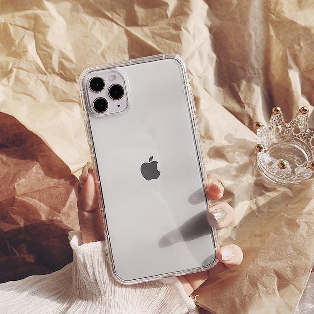 Simple transparent clear iphone case