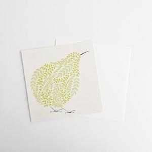 sotlight / 小池葉月 メッセージカード KIWI