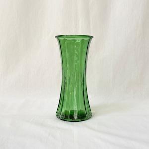 E.O. Brody Co. USA フラワーベース グリーン ガラス製 花瓶 ヴィンテージ雑貨